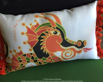 Chinese Zodiac Pillow - Birth Year Animal - Special Gift - Dragon