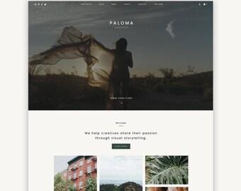 Multipurpose Wordpress Theme | Paloma | Portfolio, Blog and eCommerce Design | Self-Hosted WordPress.org