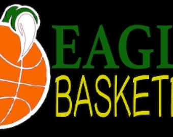 Eagles Basketball Regular Print-Multiple Shirt Options