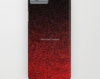 Red and Black Glit Gradient Phone Case 18 Styles Available! - iPhone, iPod, and Samsung Galaxy!