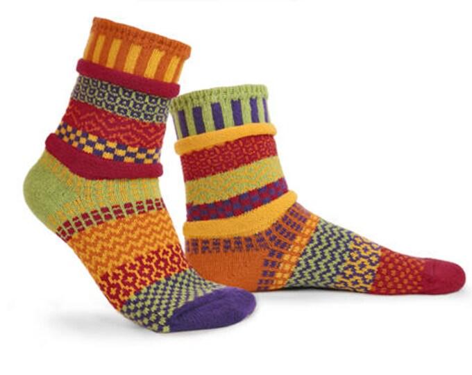 Solmate Socks - Daffodil Crew