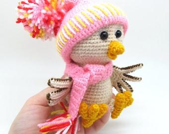 Sparrow - pdf crochet toy pattern - NEW