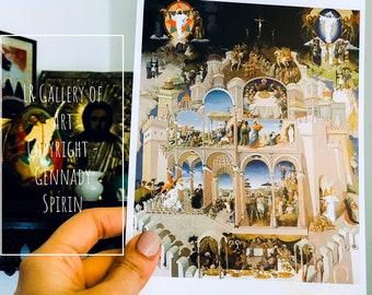 1 Card - Jesus by Gennady Spirin (5 x 7, not signed)