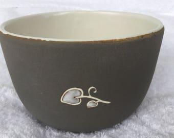 Rare signed Arte Deco Clay Bowl by Vantury de Vegh   1938