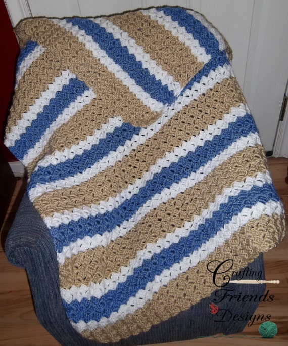 Crochet Afghan Pattern Brick Stitch Afghan Baby To King