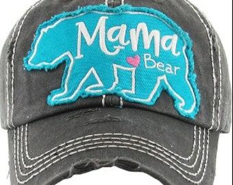 Mama Bear Black Hat