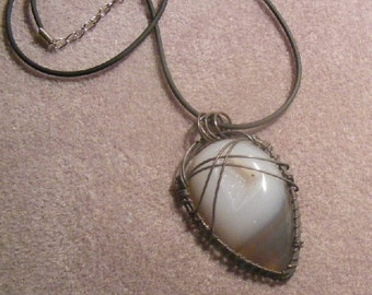 Geode Agate Drusy Pendant Necklace