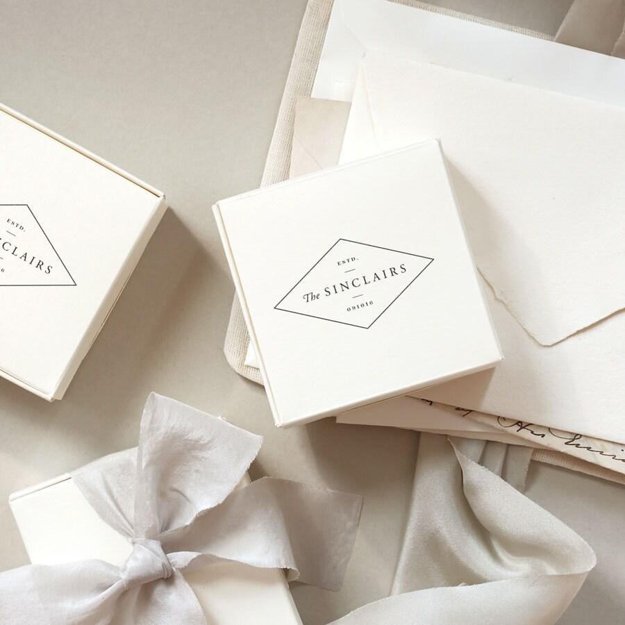 Wedding Est, Wedding Date Stamp, Personalized Wedding, Wedding Logo ...