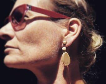 Dauplaise Baroque Pearl Dangle Earrings