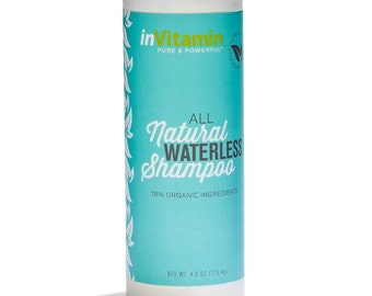 Natural Waterless Shampoo