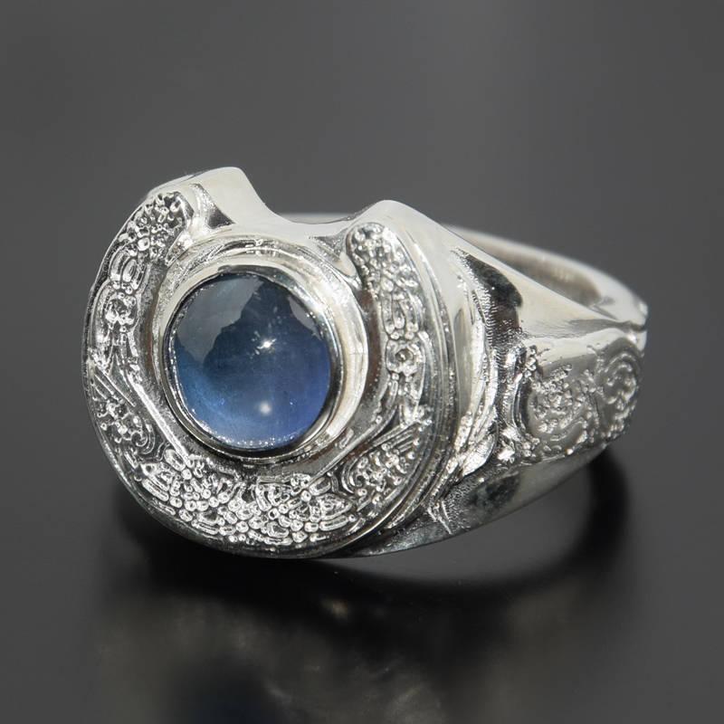 Signet ring silver Men ring silver Art deco ring men