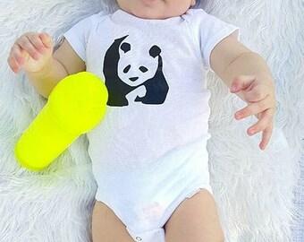 Panda Bear Onesies® brand by Gerber®