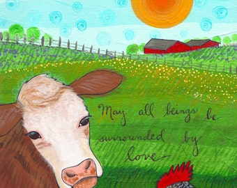 Print :  May All Beings