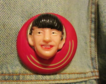 "OOAK Vintage ""Ringo"" Beatles Brooch"