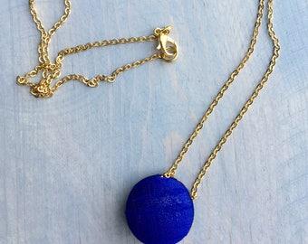 Blue Pendant Chain