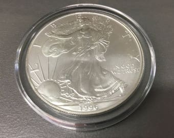 1996 silver eagle   Key date for the series