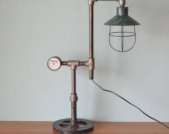 Vintage industrial desk lamp lighting No 709 custom made