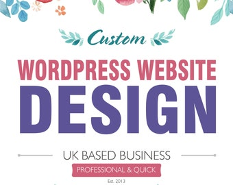 Wordpress Website with Onsite SEO, Custom Wordpress Website, Website, Restaurant Website, Web Design, Wordpress Design, Blog Website