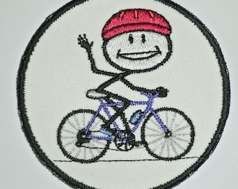 Iron-On Patch - BICYCLE