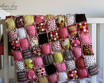 How to Make a Rag Puff Quilt Pattern PDF File