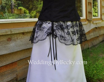 Lace Western Wedding dress