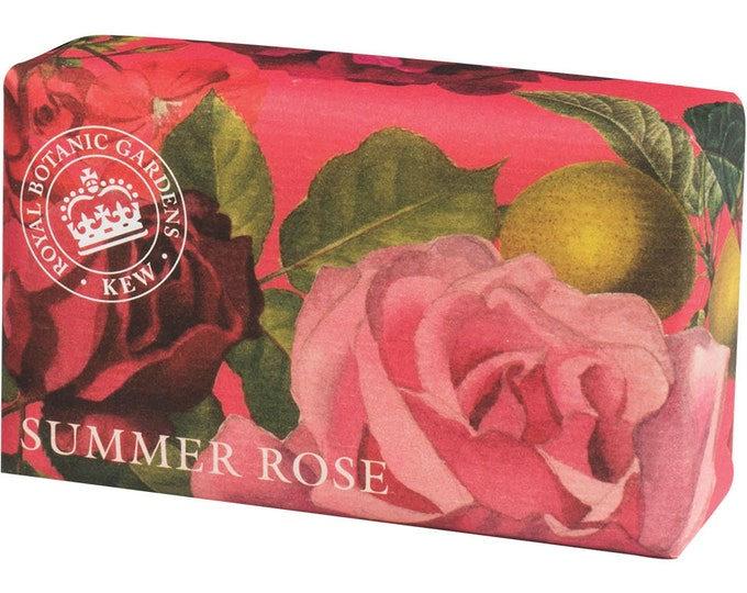 Royal Luxurious Botanic Gifts English Soap - Ideal Gift For Mom- Her-Dad- Him -Birthday-Anniversary- Wedding-Christmas or Just For You