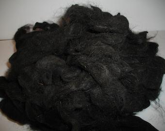 Black Suri Alpaca.