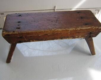 Rustic primitive bench