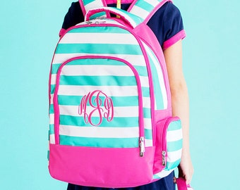 Backpack, Lunch Box, Monogrammed backpack, Skylar back pack, diaper bag,