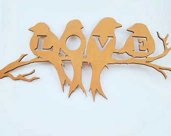Love Birds Wall Hanging