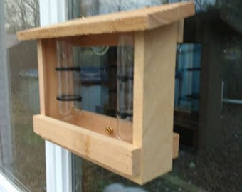 BIRD WINDOW Feeder,Bird Feeder,Window Bird Feeder,School Bird Feeder Project,Bird Seed