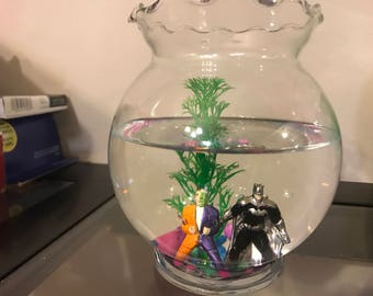 Small Batman Fish Tank