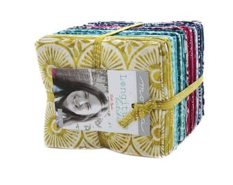 Longitude 40 Fat Quarters designed by Kate Spain for Moda Fabrics, 100% Premium Cotton by the Yard