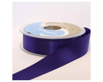 Ribbon Double sided 25mm sold per Metre: Violet - 0401