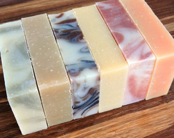 BUY 5 GET 1 FREE - Any 6 Bars of all natural Yamali Soap