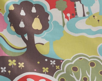 Avant Garden Floral Scenic Fantasia fabric by Momo for Moda Fabrics