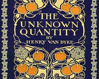 Art Nouveau Book Print -  Antique Book Cover - Art Deco Print - Vintage Picture - Antique Book - Antique Illustration - 8x10