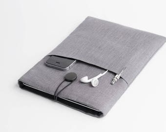 Surface Pro 5 sleeve, Surface Pro 2017 case, Surface Pro 2016 case, Macbook 12 inch case, Surface Pro grey, minimalist case