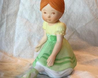 "Holly Hobbie ""Giselle"" Porcelain Figurine, 1985"