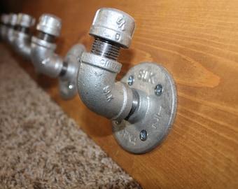 Industrial pipe hooks