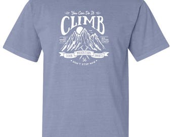 National Park Climb Your Mountain Adventure Comfort Colors T-Shirt