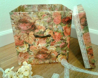 Vintage Style Boudoir Box