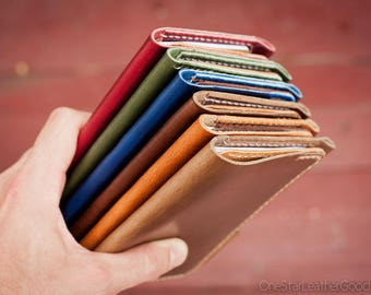 """BUILD-YOUR-OWN """"Park Sloper Senior"""" Field Notes wallet with pen sleeve"""