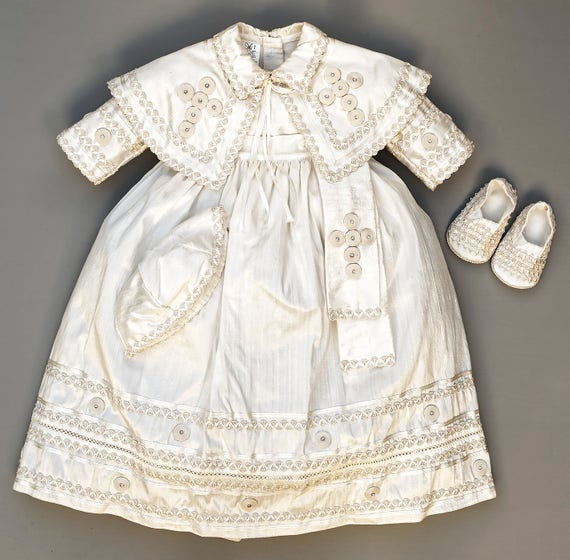 Baby boy christening outfit Pope Style Baptism gown catholic