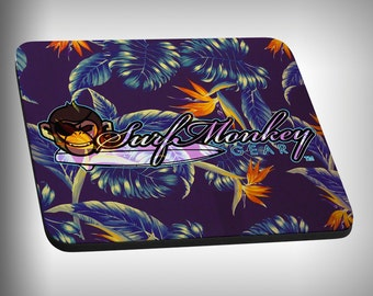 Hawaiiin Print II Mouse Pad Custom Graphic Novelty Mousepad Great Gift Customized Personalized