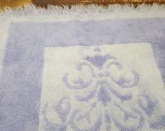 Vintage Hand Towel, 1970s,