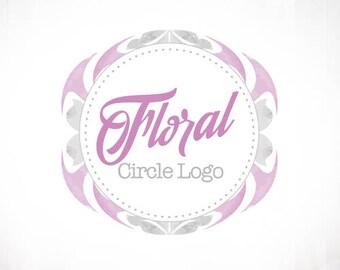 Premade Logo Design • Jagged Floral
