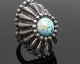 Huge Napier Ring Mid Century Costume Vintage Jewelry
