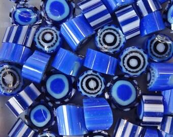 COE 104 Duos Blueberry Pop murrini by Lori and Kim