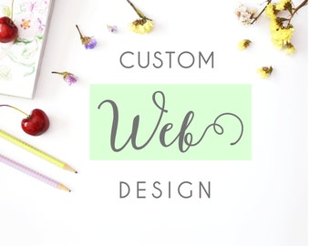 Web designer, wordpress website, custom web design, self hosted, custom website template